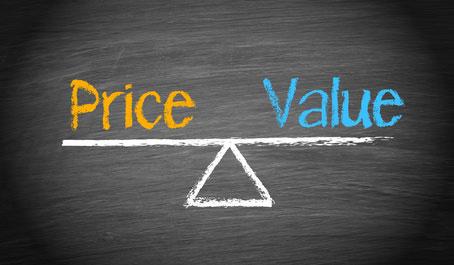 prezzo di un sito web dipende dagli obiettivi
